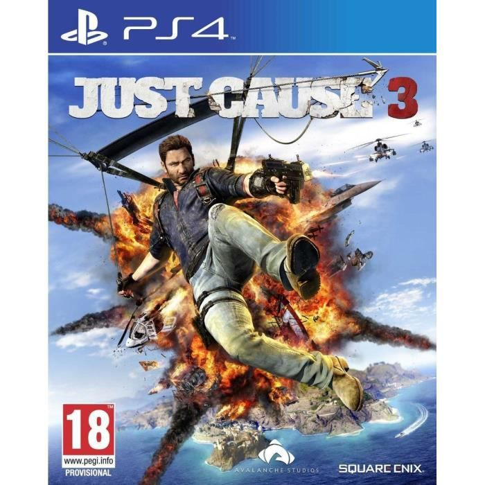 just cause 3 jeu ps4 achat vente jeu ps4 just cause 3 jeu ps4 cdiscount. Black Bedroom Furniture Sets. Home Design Ideas