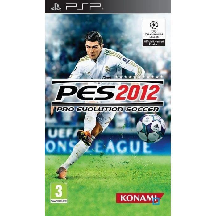 JEU PSP PES 2012 / Jeu console PSP