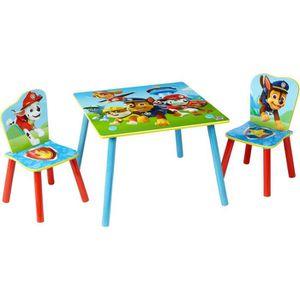 TABLE ET CHAISE PAT PATROUILLE Ensemble Table Et 2 Chaises Pour En