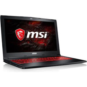 ORDINATEUR PORTABLE MSI PC Portable GL62M 7REX-2616XFR - 15,6'' FHD -