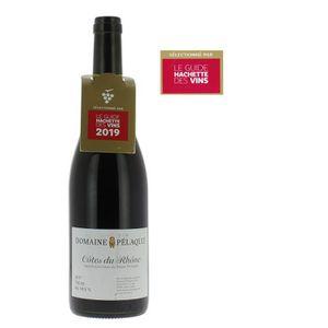 VIN ROUGE Domaine Pélaquié 2017 Côtes du Rhône Vin Rouge
