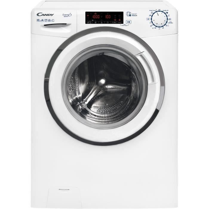 Candy Hgs 1310th3q1 S Lave Linge Frontal 10kg 1300 Tours