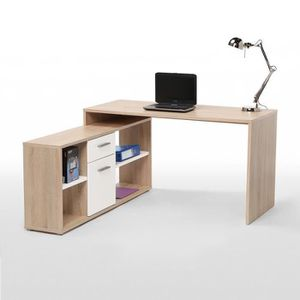 bureau avec retour achat vente pas cher. Black Bedroom Furniture Sets. Home Design Ideas