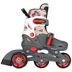 ROLLER IN LINE NIJDAM JUNIOR Rollers en ligne ajustables - Enfant