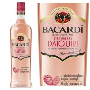 Punch-Cocktail préparé Bacardi Daïquiri Strawberry 14,9° 70cl