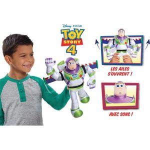 PELUCHE Toy Story 4- Peluche Buzz avec fonctions