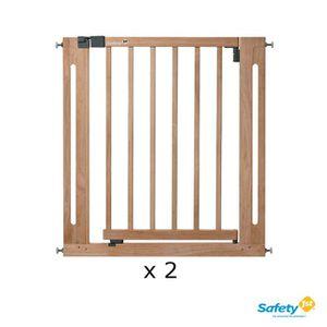BARRIÈRE DE SÉCURITÉ  SAFETY 1ST Pack 2 Barrières de sécurité Easy close