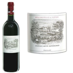 VIN ROUGE Château Lafite Rothschild 2007 Pauillac - Vin roug