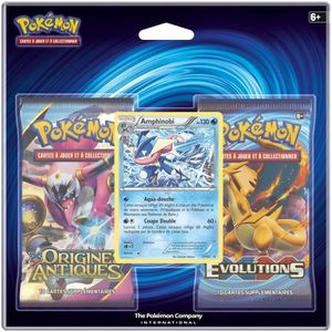 CARTE A COLLECTIONNER POKEMON - Pack 2 Boosters