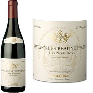 VIN ROUGE J. B. Savigny Les Beaune 1er Cru Les Narbantons...
