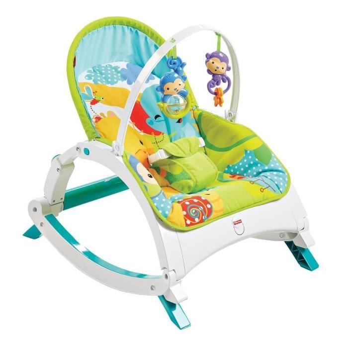 fisher price transat evolutif amis jungle achat vente transat balancelle 0887961163186