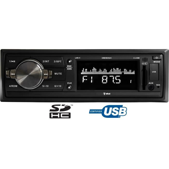 tokai lar 11 autoradio usb carte sd aur achat vente autoradio tokai lar 11 autoradio. Black Bedroom Furniture Sets. Home Design Ideas