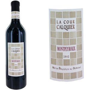 VIN ROUGE La Cour Calquier 2012 Montpeyroux - Vin rouge du L