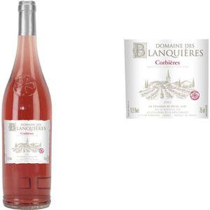 VIN ROSÉ Domaine des Blanquières 2013 Corbières - Vin rosé