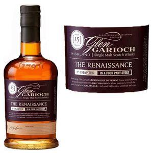 WHISKY BOURBON SCOTCH Glen Garioch 15 ans The Renaissance 51.9%