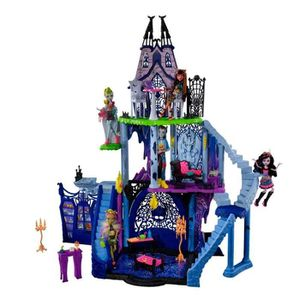 MAISON POUPÉE MONSTER HIGH Catacombes Infernales