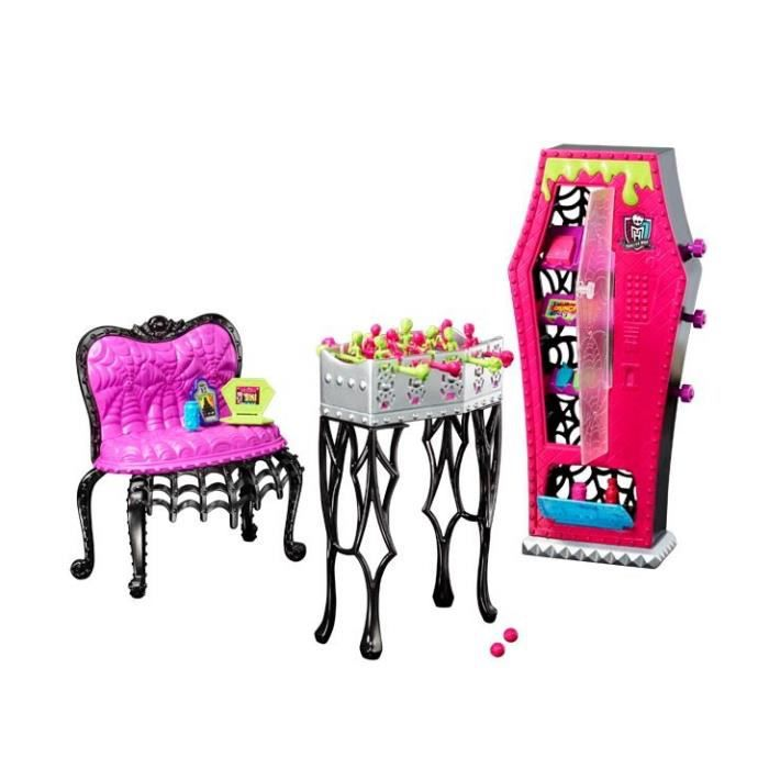 monster high salle de jeux achat vente maison poup e cdiscount. Black Bedroom Furniture Sets. Home Design Ideas