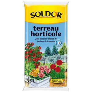 TERREAU - SABLE SOLDOR Terreau horticole pour toutesLes plantes du