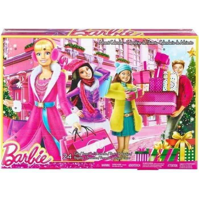 Calendrier Avent Barbie.Barbie Calendrier De L Avent