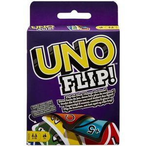 CARTES DE JEU UNO FLIP Jeu de cartes réversibles - 2 à 10 joueur