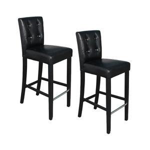 tabouret de bar 4 pieds achat vente tabouret de bar 4 pieds pas cher cdiscount. Black Bedroom Furniture Sets. Home Design Ideas