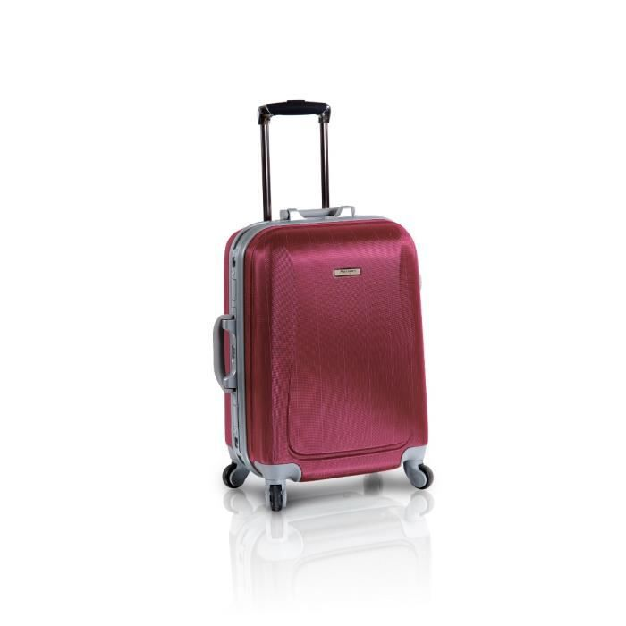 horizon valise trolley 4 roues cabine 51 cm rouge achat vente valise bagage 3700245423424. Black Bedroom Furniture Sets. Home Design Ideas