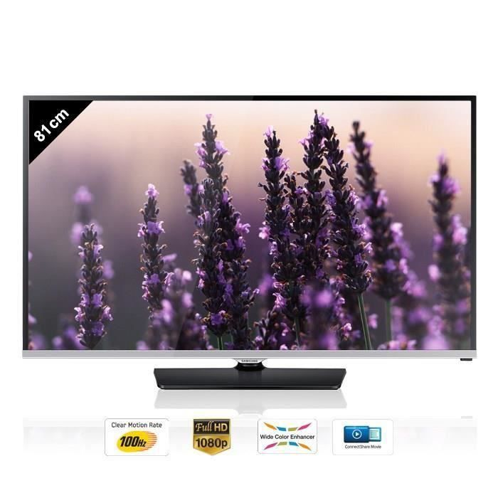 destockage samsung ue32h5000 tv led full hd 81 cm. Black Bedroom Furniture Sets. Home Design Ideas