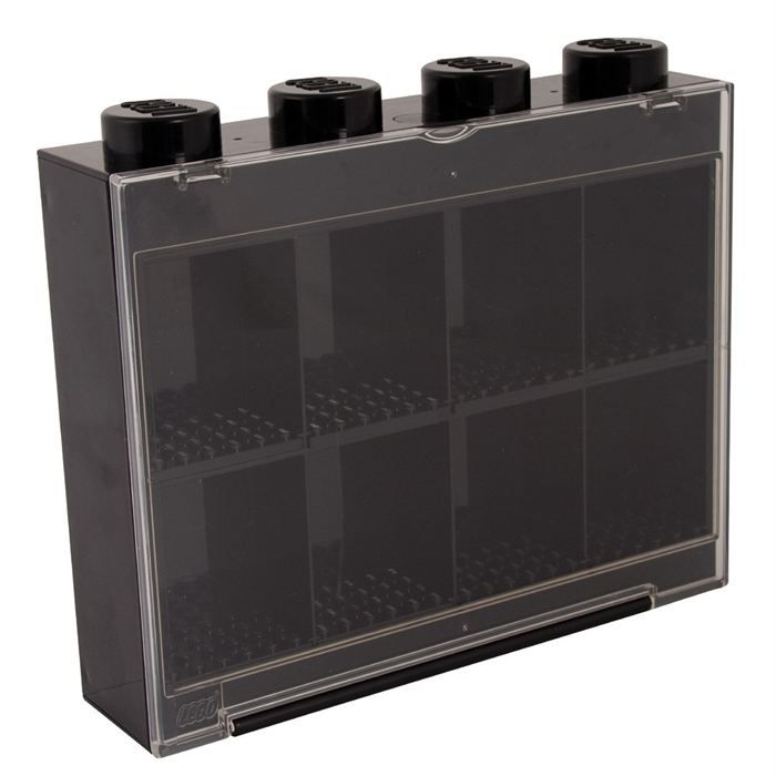 lego vitrine figurines 8 cases noire achat vente assemblage construction cdiscount. Black Bedroom Furniture Sets. Home Design Ideas