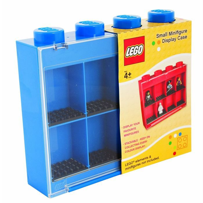 lego vitrine figurines 8 cases bleue achat vente figurine personnage cdiscount. Black Bedroom Furniture Sets. Home Design Ideas