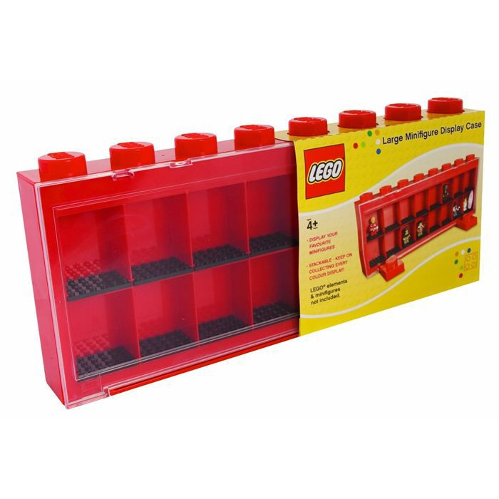 lego vitrine figurines 16 cases rouge achat vente assemblage construction cdiscount. Black Bedroom Furniture Sets. Home Design Ideas