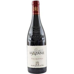 VIN ROUGE Alain Jaume Château Mazane 2014 Vacqueyras - Vin r