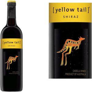 VIN ROUGE Yellow Tail Shiraz rouge x1
