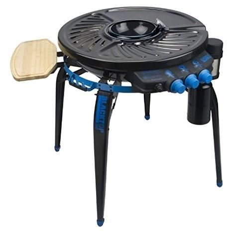 RÉCHAUD BLACKTOP Barbecue plancha à gaz 360 - Transportabl