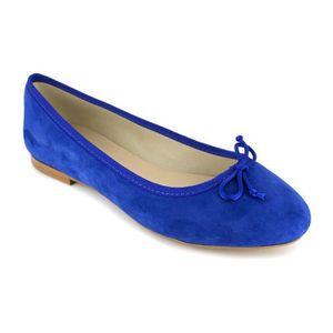 BALLERINE PIERRE CARDIN Ballerines en cuir - Femme - Bleu él