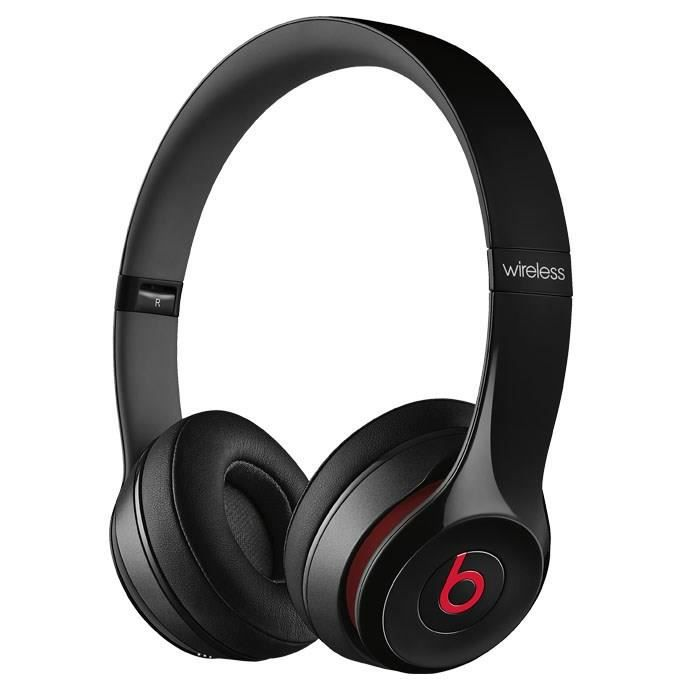 beats solo 2 wireless casque audio bluetooth noir casque. Black Bedroom Furniture Sets. Home Design Ideas