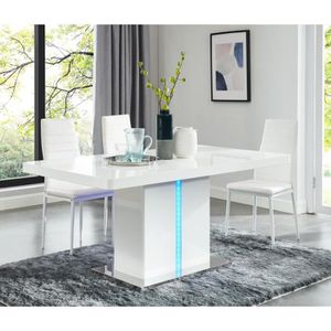 table extensible 120 cm achat vente table extensible 120 cm pas cher cdiscount. Black Bedroom Furniture Sets. Home Design Ideas