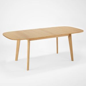 TABLE À MANGER SEULE NAISS Table à manger 6 personnes avec allonge - Bo