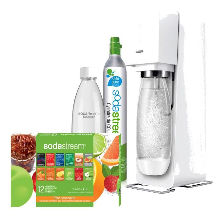 sodastream mega pack source blanche achat vente. Black Bedroom Furniture Sets. Home Design Ideas