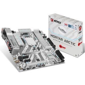 CARTE MÈRE MSI Carte mère B250M MORTAR ARCTIC - Socket LGA 11