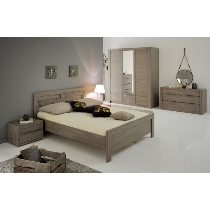 oxford ensemble lit adulte 160x200 cm ch ne oxford achat