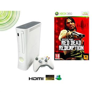 CONSOLE XBOX 360 CONSOLE XBOX360 ARCADE + RED DEAD REDEMPTION + Pac