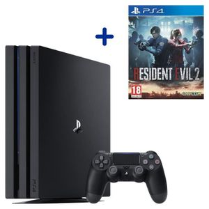 CONSOLE PS4 PS4 Pro 1 To Noire + Resident Evil 2 Remake