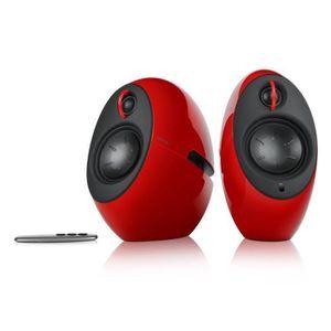 ENCEINTES ORDINATEUR Edifier enceintes Eclipse Bluetooth Rouge