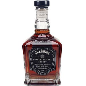 WHISKY BOURBON SCOTCH Jack Daniel's Single Barrel 70cl