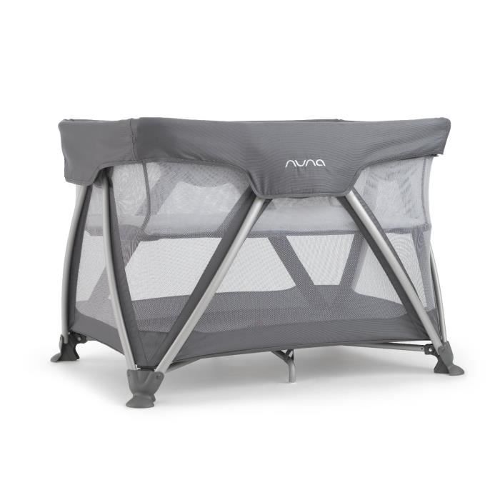 nuna lit parapluie sena graphite gris achat vente lit pliant 8717903883679 cdiscount. Black Bedroom Furniture Sets. Home Design Ideas