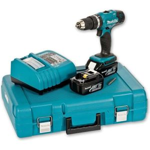 MAKITA Perceuse percussion DHP453RFE 2x18V Li