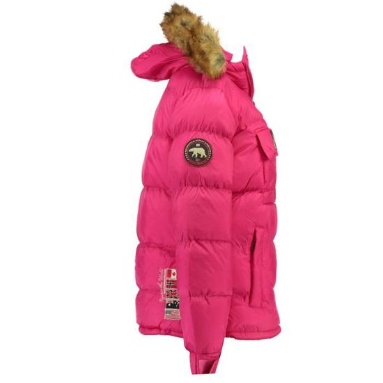 GEOGRAPHICAL NORWAY Doudoune Bianca 068 Femme Rose flash