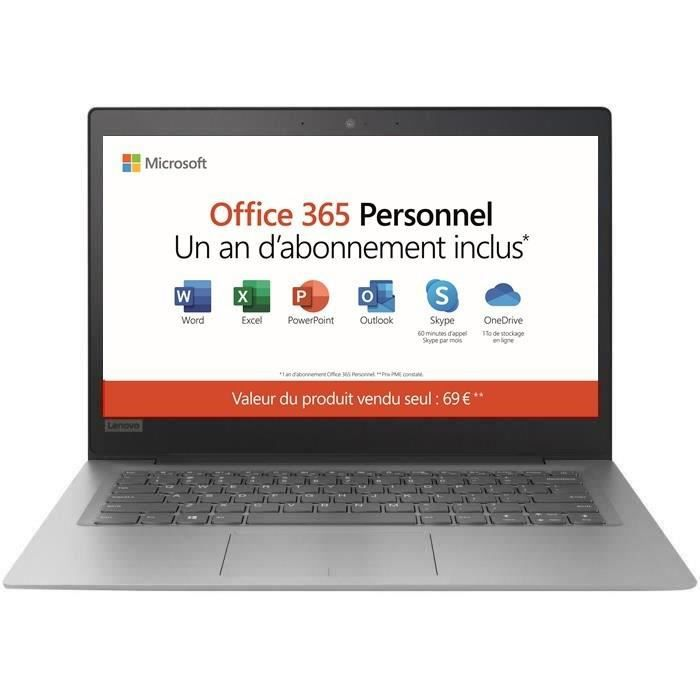 ORDINATEUR PORTABLE Ordinateur Ultrabook - LENOVO Ideapad 120s-14IA -1