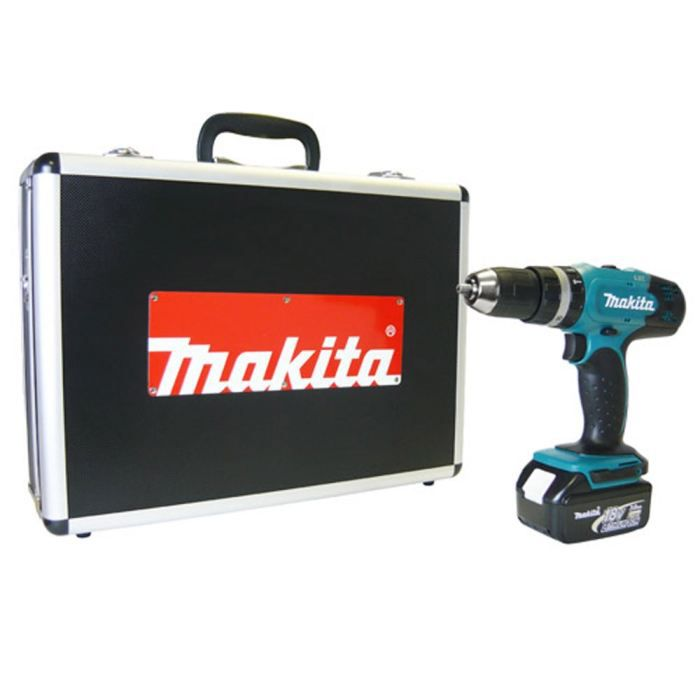 makita perceuse visseuse percussion 18v 3ah li ion achat vente perceuse pvc les soldes. Black Bedroom Furniture Sets. Home Design Ideas