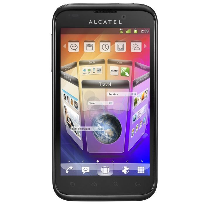 SMARTPHONE ALCATEL ONE TOUCH  995 Rouge